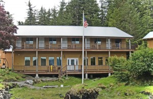 southeast alaska Lodge Outside View